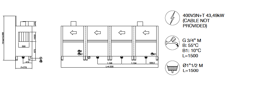 TUNNEL LINE tm6310